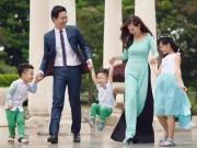 Đời sống Showbiz - Tan chảy với hình ảnh bên vợ đẹp, con xinh của Phan Anh
