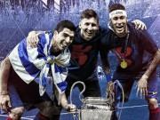 """Bóng đá - Barca: Tròn 2 năm Messi-Suarez-Neymar """"oanh tạc"""" thế giới"""