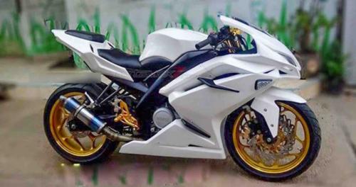 """Tròn mắt trước Sportbike """"hồn"""" Yamaha, """"xác"""" Honda - 1"""