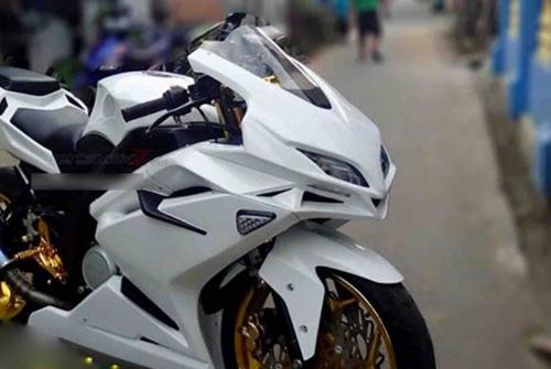 """Tròn mắt trước Sportbike """"hồn"""" Yamaha, """"xác"""" Honda - 3"""