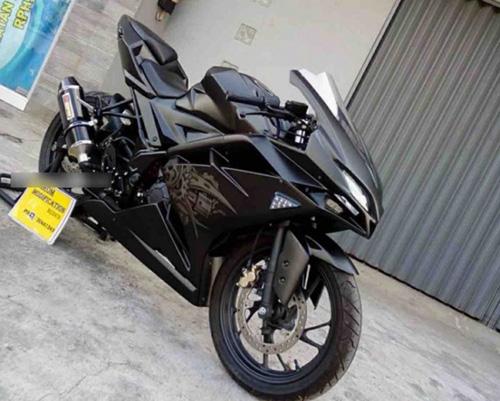 """Tròn mắt trước Sportbike """"hồn"""" Yamaha, """"xác"""" Honda - 5"""
