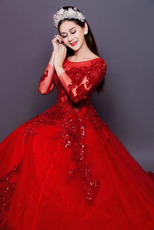 Lâm Khánh Chi tung hình cưới, úp mở chuyện kết hôn - 5