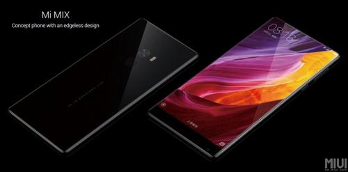 Xiaomi Mi Mix trình diện: Smartphone không viền màn hình - 1