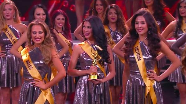 Nguyễn Loan lọt top 20 Hoa hậu Hòa bình Quốc tế 2016 - 2