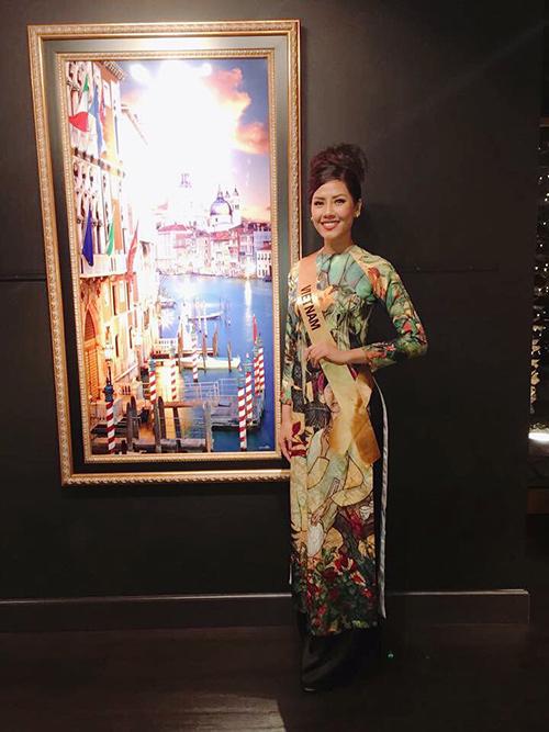 Nguyễn Loan lọt top 20 Hoa hậu Hòa bình Quốc tế 2016 - 14
