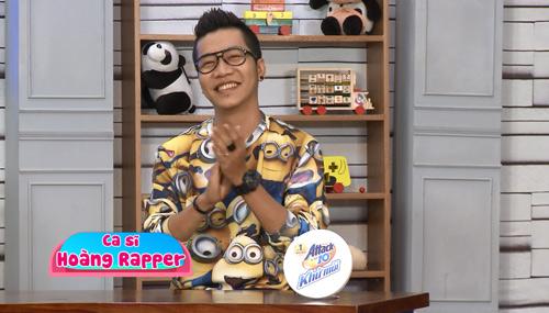 Hoàng Rapper học hỏi kinh nghiệm dạy con từ truyền hình thực tế - 1