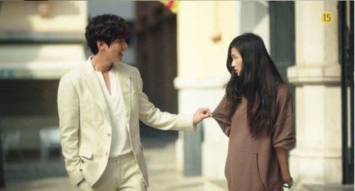"""""""Cô nàng ngổ ngáo"""" đá bay Lee Min Ho vì dám nhìn trộm - 1"""