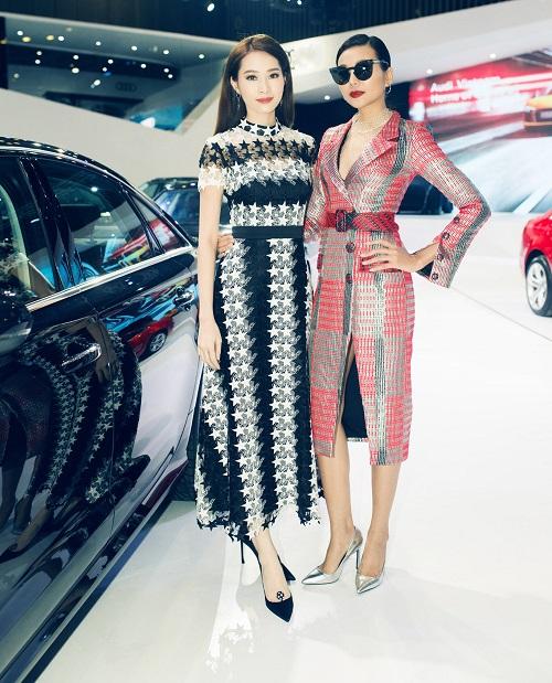 """Hoa hậu Thu Thảo quyết """"đọ sắc"""" Thanh Hằng tại sự kiện - 1"""