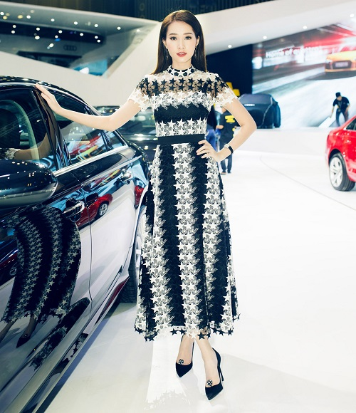"""Hoa hậu Thu Thảo quyết """"đọ sắc"""" Thanh Hằng tại sự kiện - 2"""