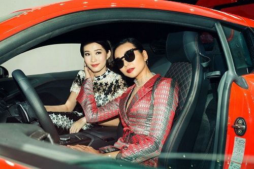 """Hoa hậu Thu Thảo quyết """"đọ sắc"""" Thanh Hằng tại sự kiện - 5"""