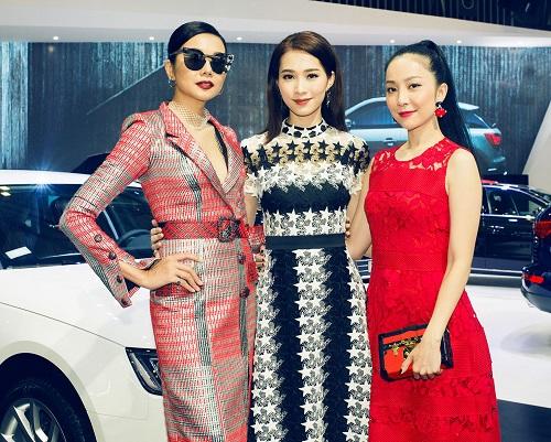 """Hoa hậu Thu Thảo quyết """"đọ sắc"""" Thanh Hằng tại sự kiện - 8"""