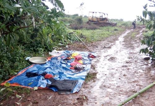 Nhìn lại hiện trường vụ nổ súng kinh hoàng ở Đắk Nông - 11