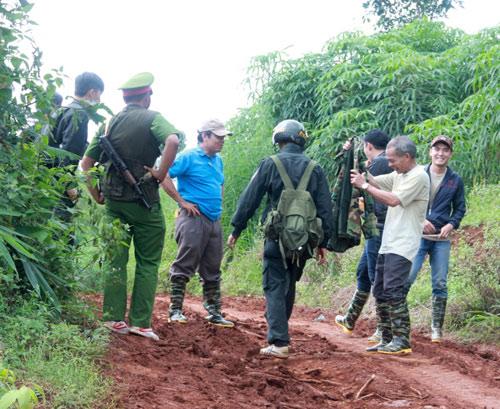 Nhìn lại hiện trường vụ nổ súng kinh hoàng ở Đắk Nông - 6