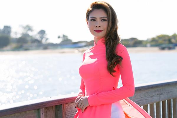 Thanh Thảo tạm nghỉ hát qua Mỹ chấm thi Hoa hậu - 6