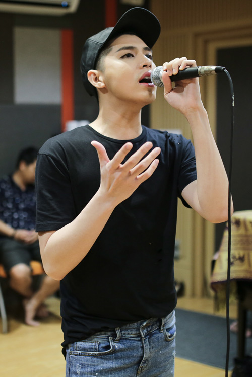 Noo Phước Thịnh đỏm dáng khi tập luyện cho show khủng - 5