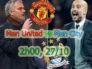 """MU – Man City: Derby của """"Những kẻ khốn khổ"""""""