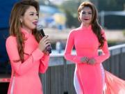 Thanh Thảo tạm nghỉ hát qua Mỹ chấm thi Hoa hậu