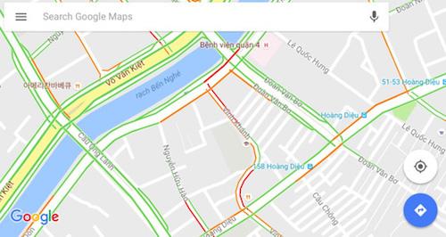 Tránh kẹt xe với Google Maps - 1