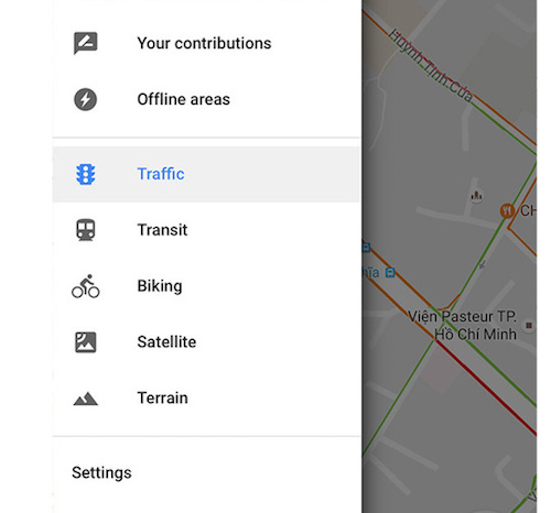 Tránh kẹt xe với Google Maps - 2