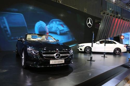 Mercedes-Benz giới thiệu loạt xe tiền tỉ tại Motoshow 2016 - 2