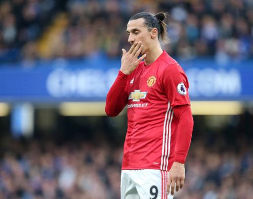 Fan MU bắt đầu mất kiên nhẫn với Ibrahimovic - 1