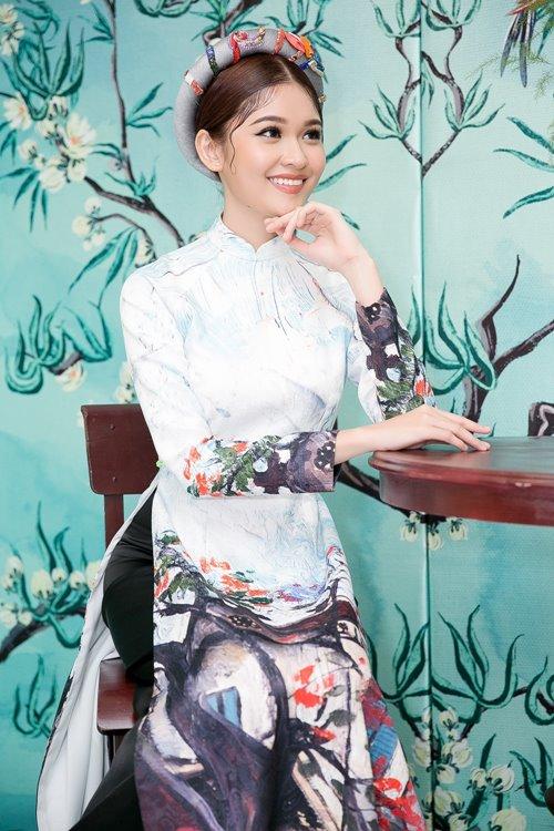 """Dàn mỹ nhân Việt """"đẹp quên lối về"""" với áo dài cách tân - 6"""