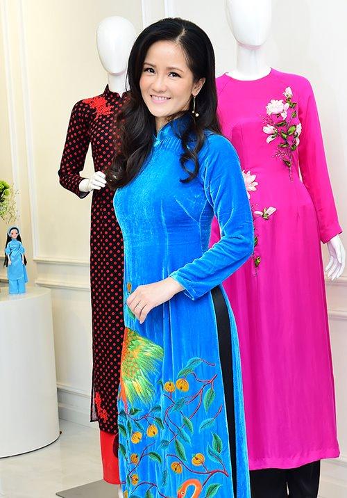 """Dàn mỹ nhân Việt """"đẹp quên lối về"""" với áo dài cách tân - 12"""