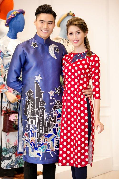 """Dàn mỹ nhân Việt """"đẹp quên lối về"""" với áo dài cách tân - 13"""