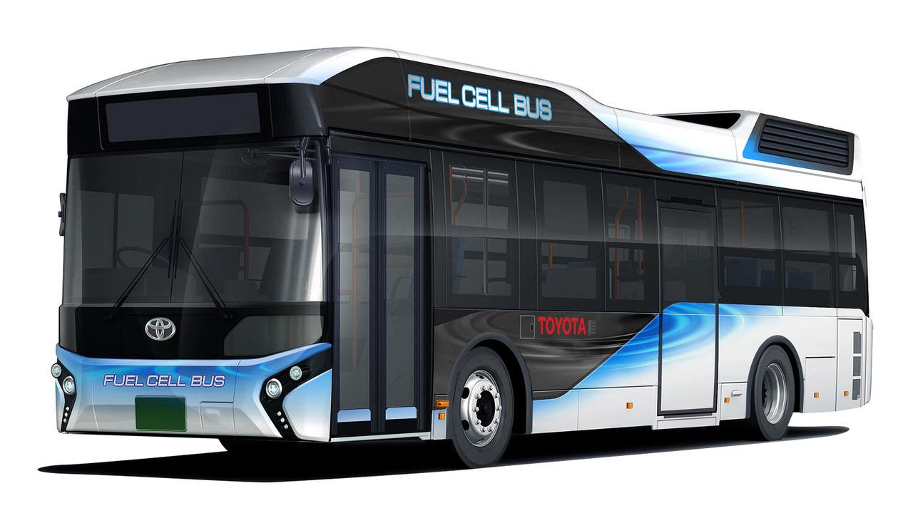 Toyota Fuel Cell Bus sẽ trình làng năm 2017 - 2