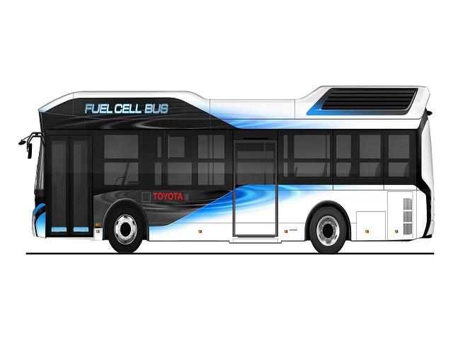 Toyota Fuel Cell Bus sẽ trình làng năm 2017 - 1