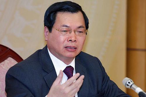 Bộ trưởng Bộ Công Thương nói về việc kỷ luật ông Vũ Huy Hoàng - 1