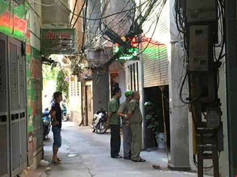 Hiện trường vụ nổ súng khiến 1 người chết tại Hà Nội - 5