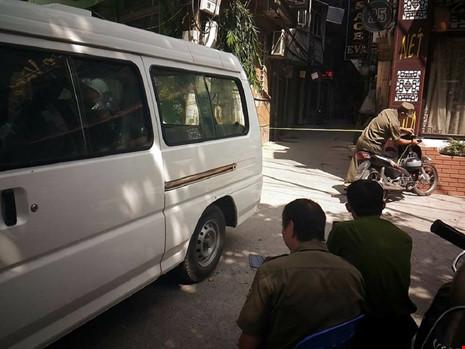 Hiện trường vụ nổ súng khiến 1 người chết tại Hà Nội - 2