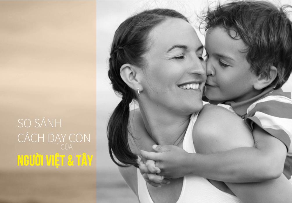 Cách dạy con khác biệt của mẹ Tây và mẹ Việt - 1