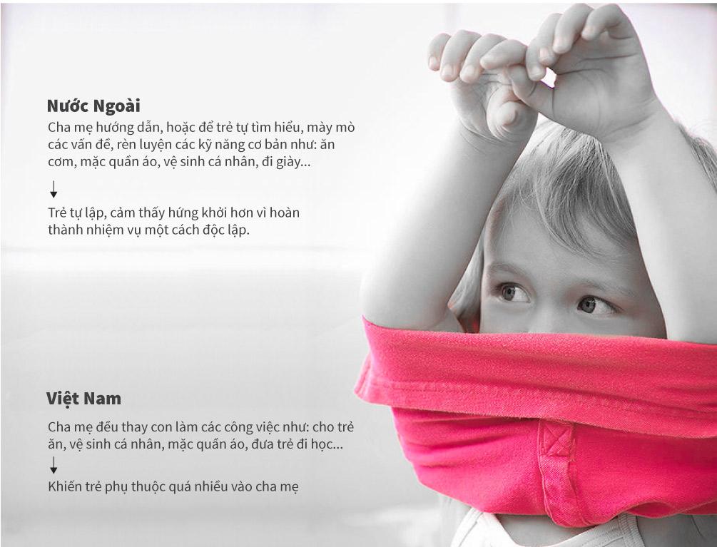 Cách dạy con khác biệt của mẹ Tây và mẹ Việt - 5