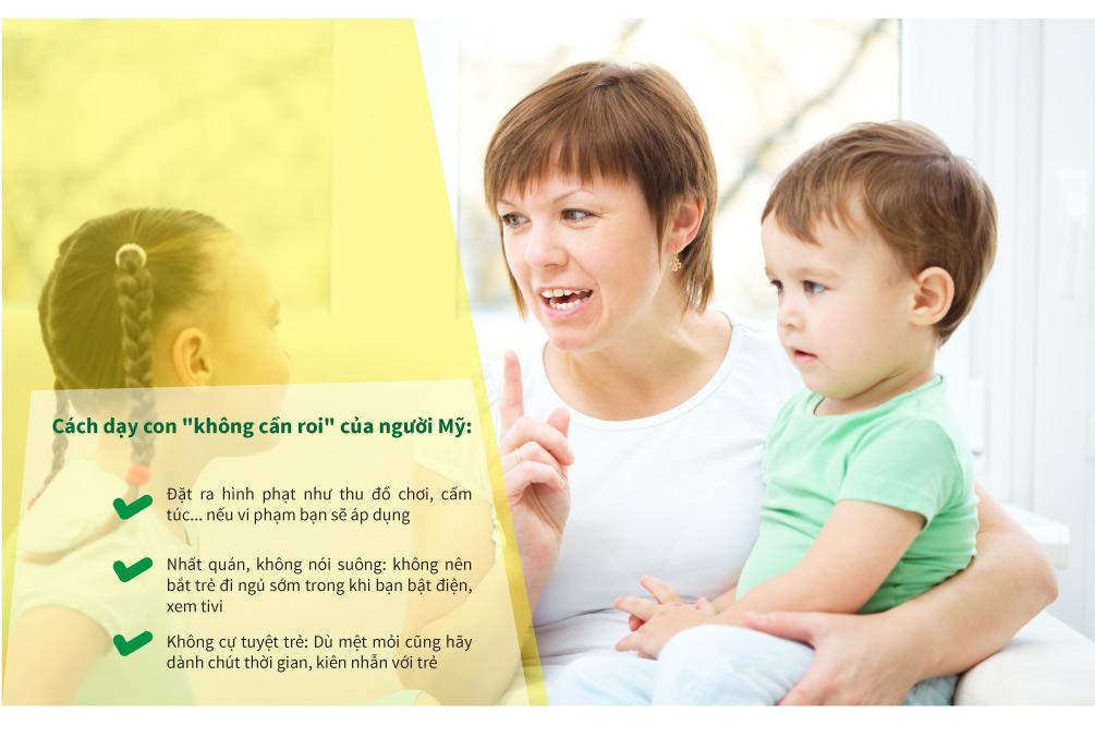 Cách dạy con khác biệt của mẹ Tây và mẹ Việt - 12