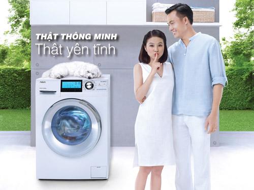 Máy giặt lồng ngang AQUA INVERTER: Đổ đầy khay 1 lần, giặt khoảng 20 lần - 1