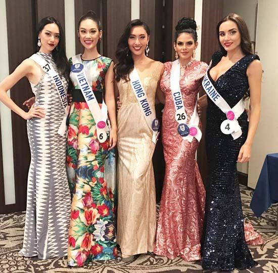 """Đại diện nhan sắc Việt """"trượt"""" top 15 Hoa hậu Quốc tế - 10"""