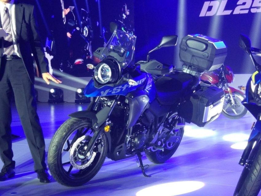 """Suzuki V-Strom DL250 Concept 2017 """"nhá hàng"""" tại Trung Quốc - 2"""