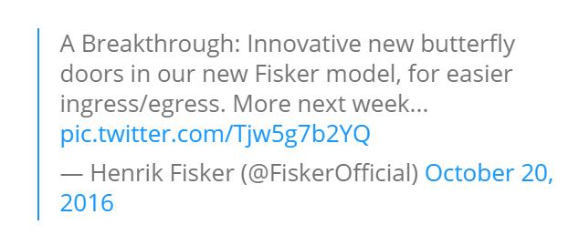 """Thiết kế """"táo bạo"""" của mẫu xe điện Henrik Fisker - 1"""