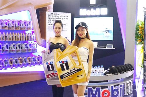 Mobil 1 xuất hiện tại triển lãm Ô tô Quốc tế Việt Nam 2016 - 1