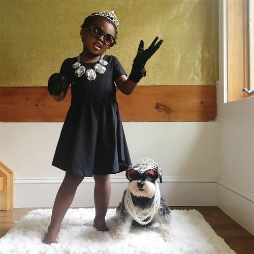 Học các bé cách ăn diện đi chơi Halloween - 2