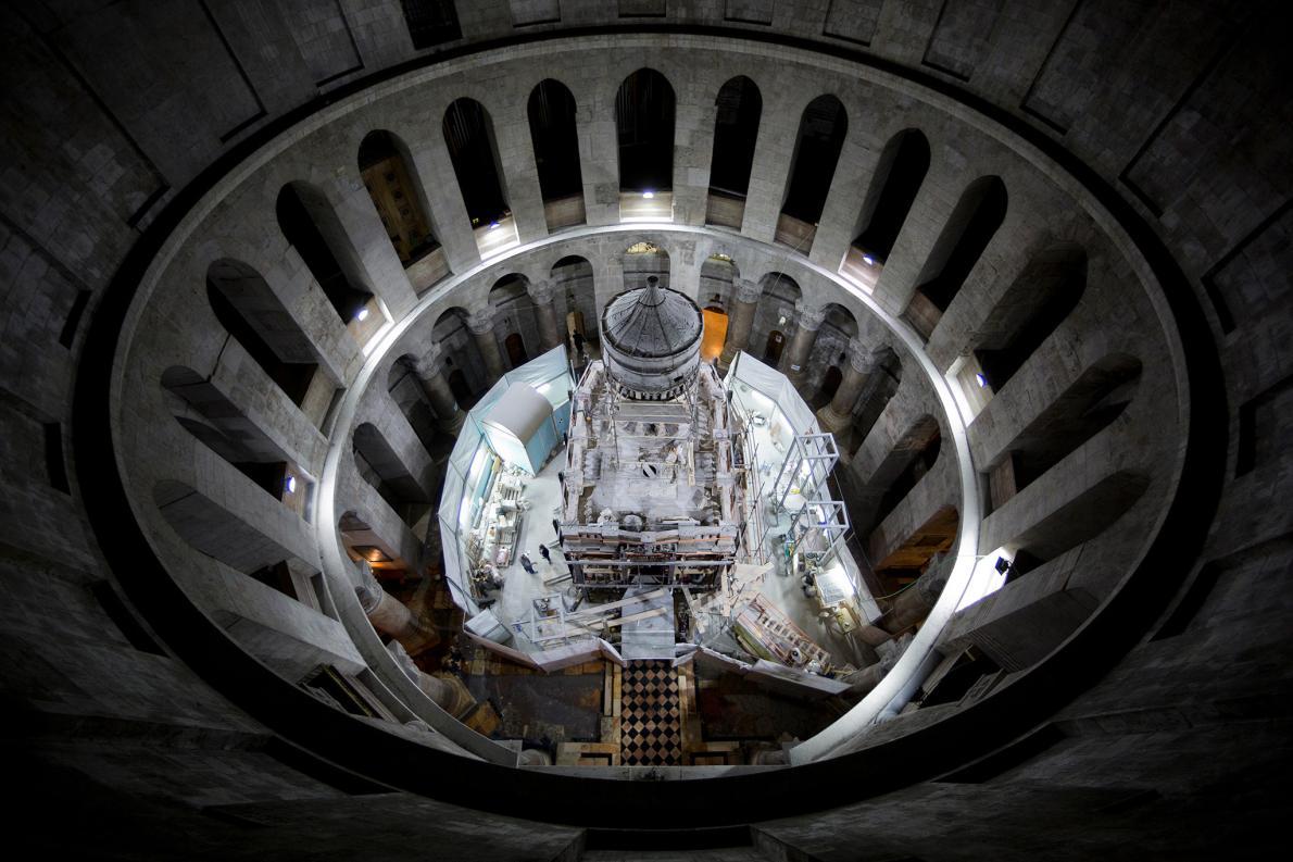 Lần đầu tiên mở mộ Chúa Jesus sau nhiều thế kỷ - 1