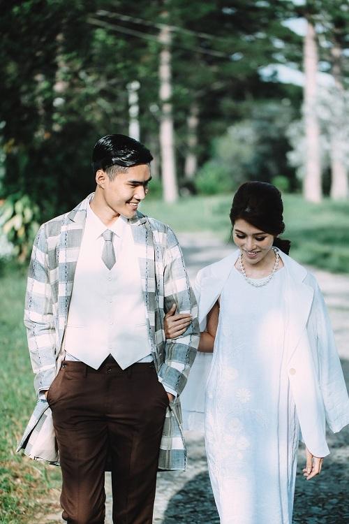"""Lộ """"thiệp cưới"""" của cặp đôi Next Top Quang Hùng- Quỳnh Châu - 1"""