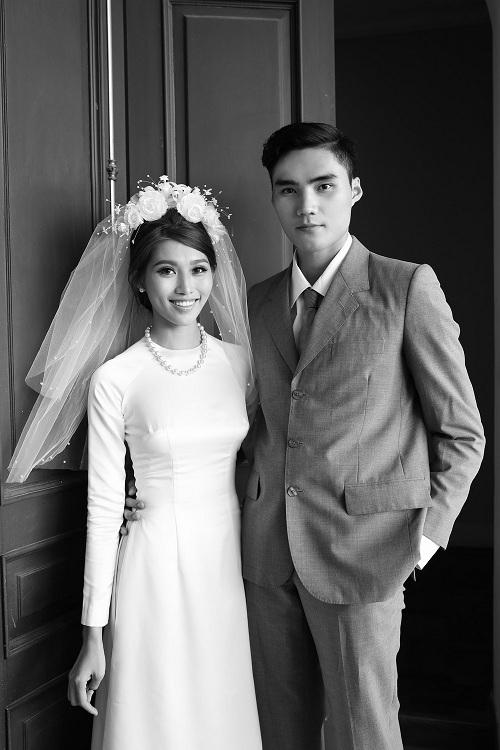 """Lộ """"thiệp cưới"""" của cặp đôi Next Top Quang Hùng- Quỳnh Châu - 3"""