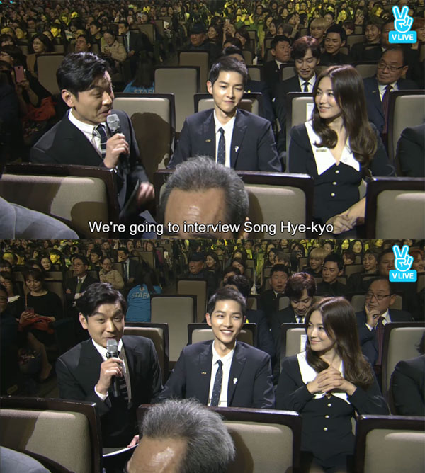 Song Joong Ki ga lăng hết cỡ với Song Hye Kyo trên truyền hình - 6