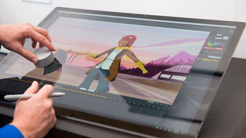"""Video: """"Giật mình"""" trước siêu phẩm Surface mới của Microsoft - 1"""