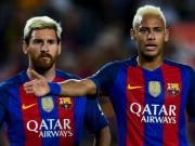 """Barca: Neymar có thể """"gánh team"""" như Messi?"""