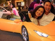 Cường đôla lái siêu xe đưa đón bạn gái sau tái hợp