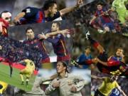 """Siêu phẩm số 1 Barca: Rô """"béo"""" đấu Ronaldinho, Messi"""